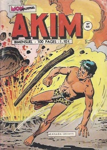 Couverture de Akim (1re série) -325- Les lianes serpents