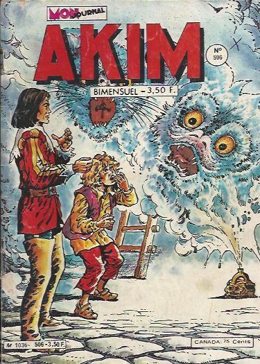 Couverture de Akim (1re série) -506- Oktap le tueur