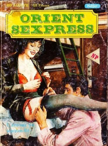 Couverture de Orient Sexpress -1- L'Amour en wagon-lit