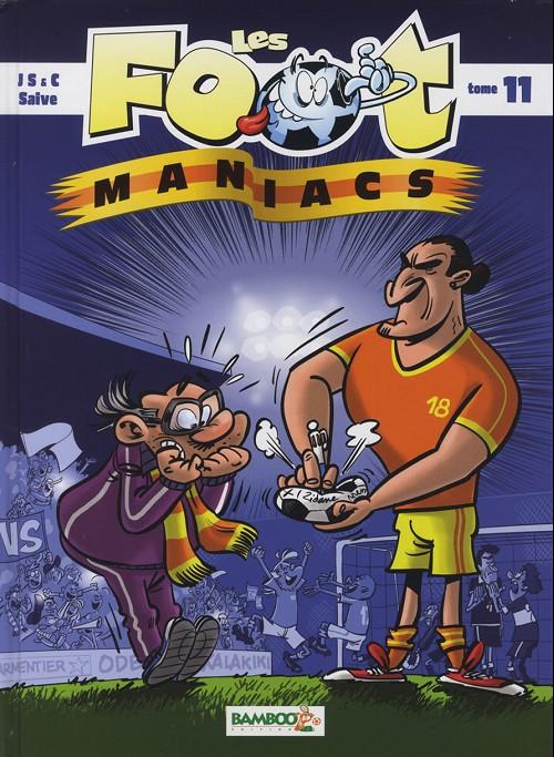 Couverture de Les foot-maniacs -11- Tome 11