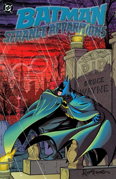 Couverture de Detective Comics (1937) -INT- Strange Apparitions