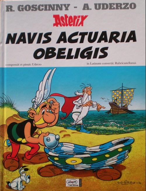 Couverture de Astérix (en latin) -30- Navis actuaria obeligis