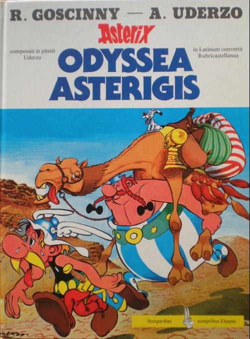 Couverture de Astérix (en latin) -26- Odyssea asterigis