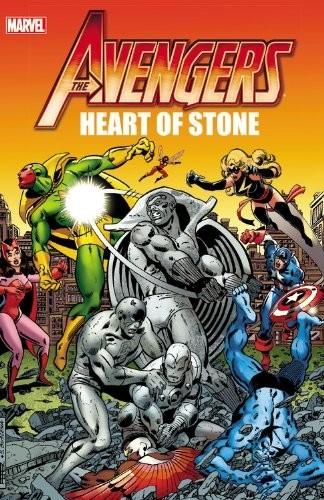 Couverture de Avengers Vol. 1 (Marvel Comics - 1963) -INT- Heart of Stone