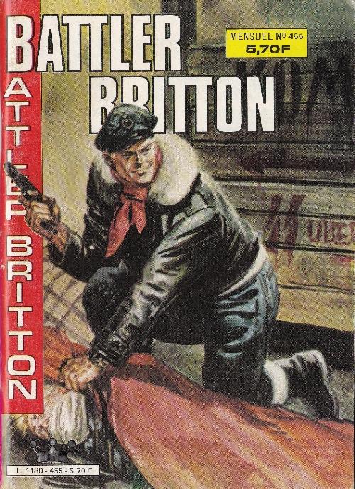 Couverture de Battler Britton -455- Un secret bien gardé