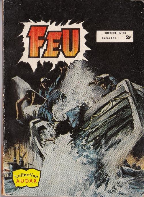 Couverture de Feu -28- Le Perceur de coffres