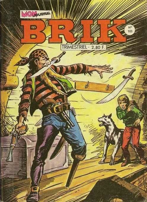 Couverture de Brik (Mon journal) -183- L'île des esclaves