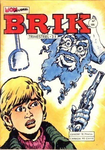 Couverture de Brik (Mon journal) -186- Le sorcier maudit