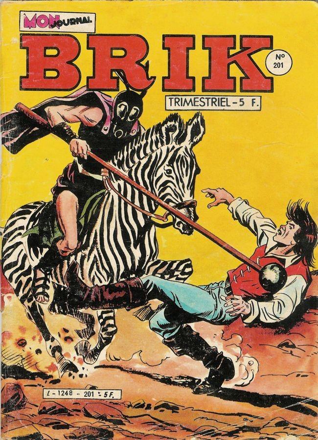 Couverture de Brik (Mon journal) -201- La frégate mystérieuse
