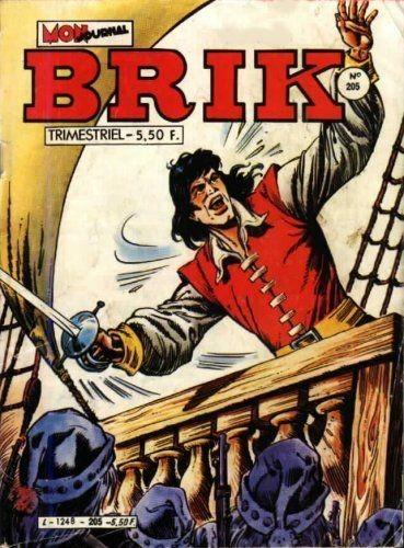 Couverture de Brik (Mon journal) -205- La colère du volcan