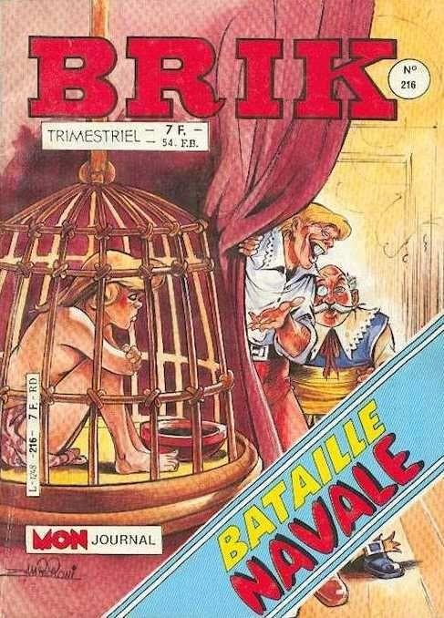 Couverture de Brik (Mon journal) -216- Roi des gorilles