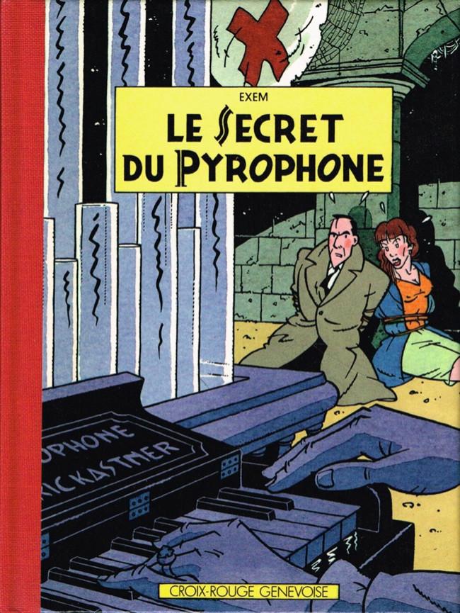 Couverture de Percelot (Les aventures de) -3- Le Secret du Pyrophone
