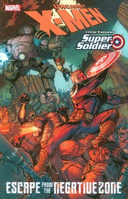 Couverture de X-Men (TPB) -INT- X-Men/Steve Rogers: Escape From the Negative Zone