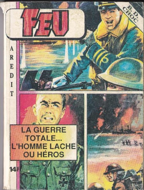 Couverture de Feu -Rec30- Recueil BD Choc N°2 (59, 60, 61, 62)