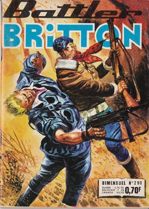 Couverture de Battler Britton (Imperia) -290- La base secrète