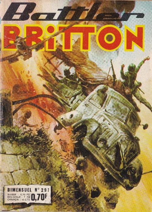 Couverture de Battler Britton -291- La guerre privée
