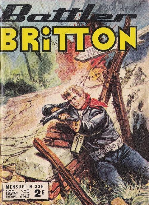 Couverture de Battler Britton (Imperia) -336- Week-end à Tok-Tok