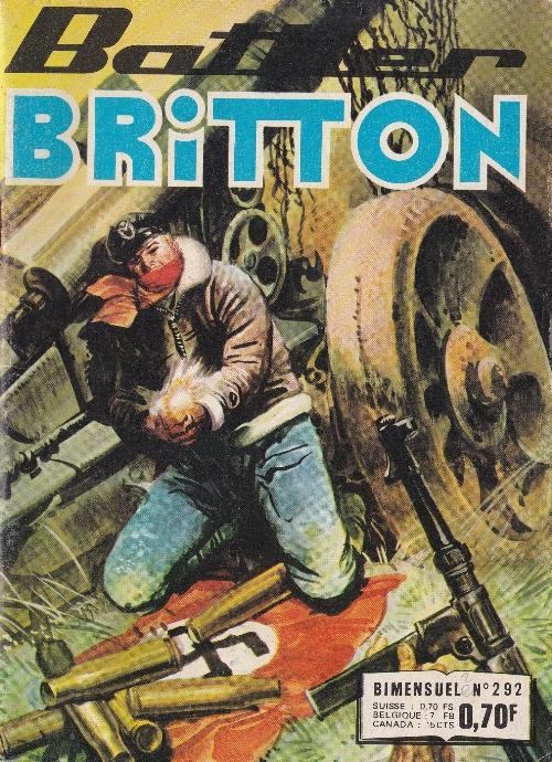 Couverture de Battler Britton -292- Mission en Crète