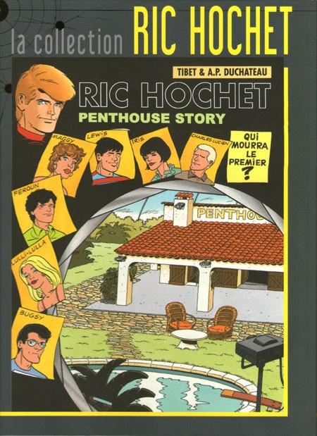 Couverture de Ric Hochet - La collection (Hachette) -66- Penthouse story