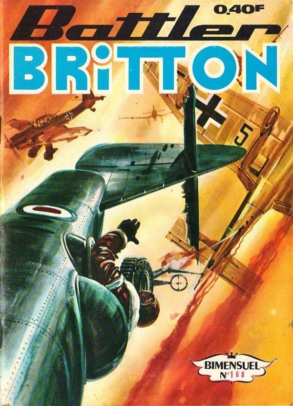 Couverture de Battler Britton (Imperia) -168- La Médaille
