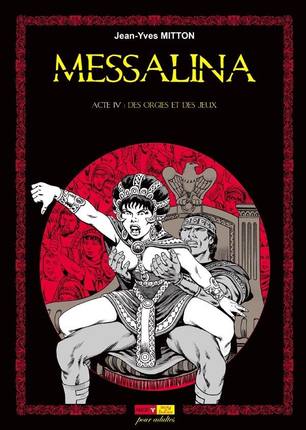 Couverture de Messalina -4- Acte IV : Des orgies et des jeux