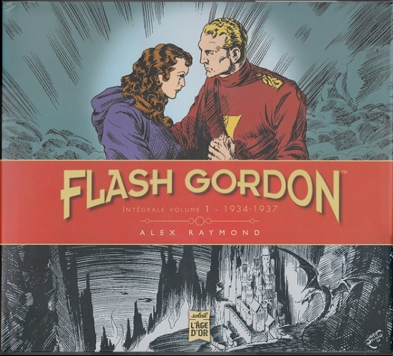 Couverture de Flash Gordon (Soleil - L'âge d'or)  -1- Intégrale Volume 1 - 1934-1937