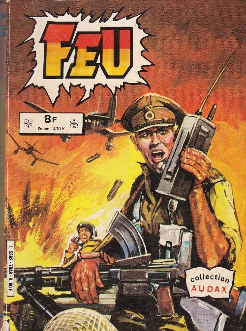 Couverture de Feu -Rec18- Recueil 7048 (36, 37)