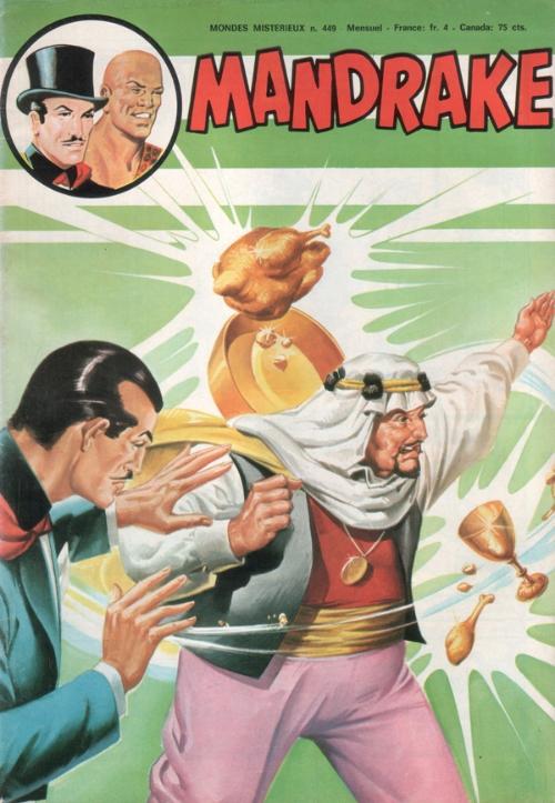 Couverture de Mandrake (1re Série - Remparts) (Mondes Mystérieux - 1) -449- L'homme qui avait trop d'or