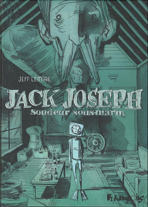 Couverture de Jack Joseph soudeur sous-marin