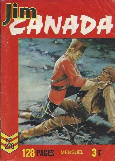 Couverture de Jim Canada -270- Gray le froussard