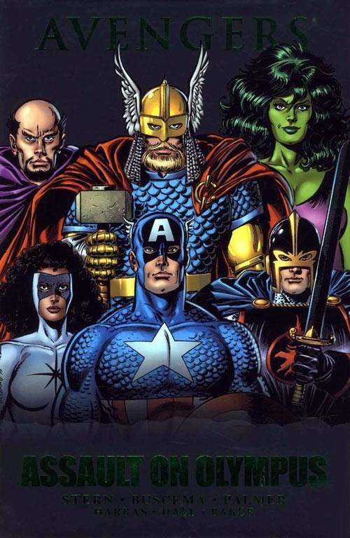 Couverture de Avengers (The) (1963) -INT- Assault on Olympus