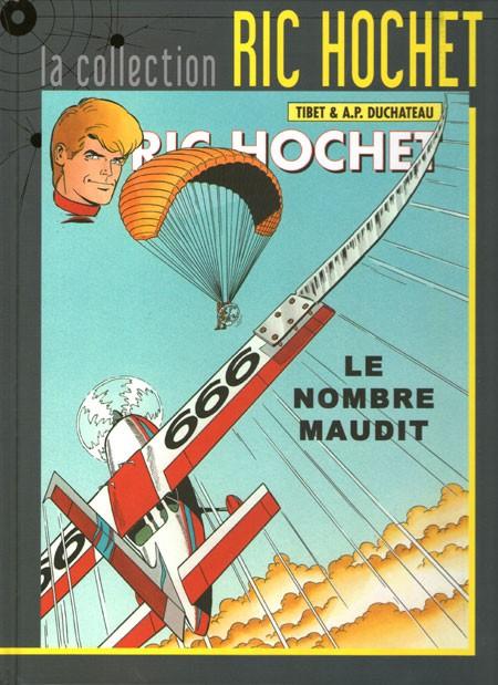 Couverture de Ric Hochet - La collection (Hachette) -67- Le nombre maudit