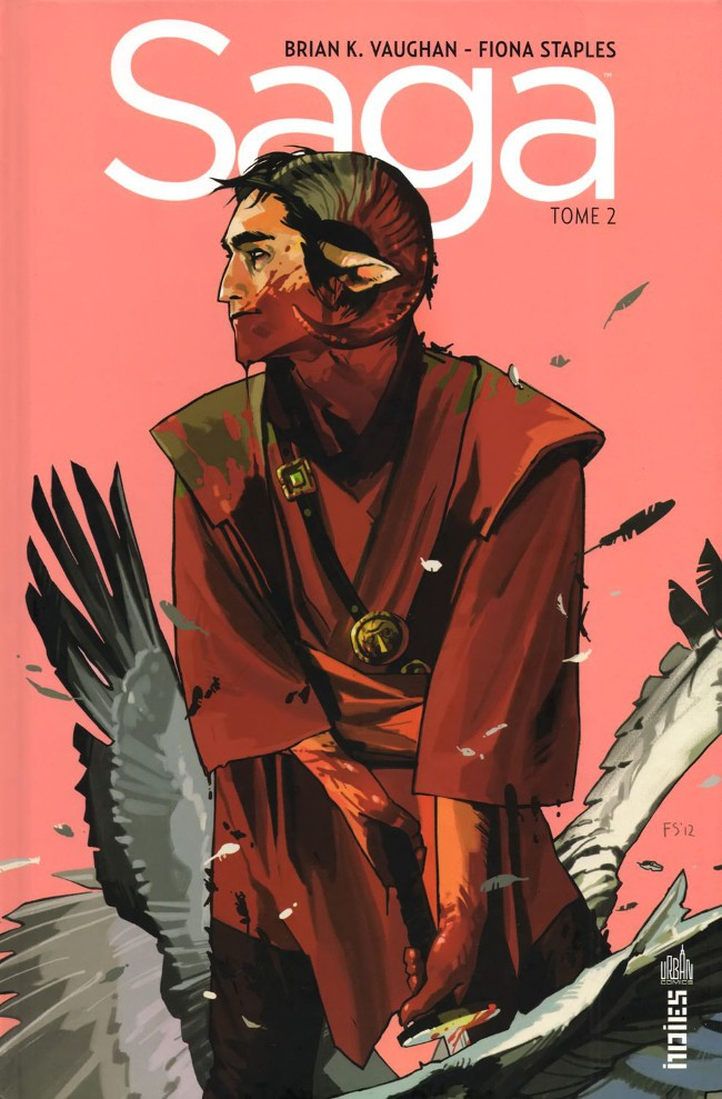 Couverture de Saga (Vaughan/Staples) -2- Tome 2