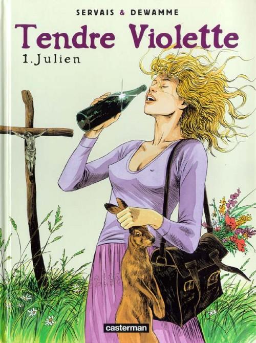 Couverture de Tendre Violette (Couleur) -1- Julien
