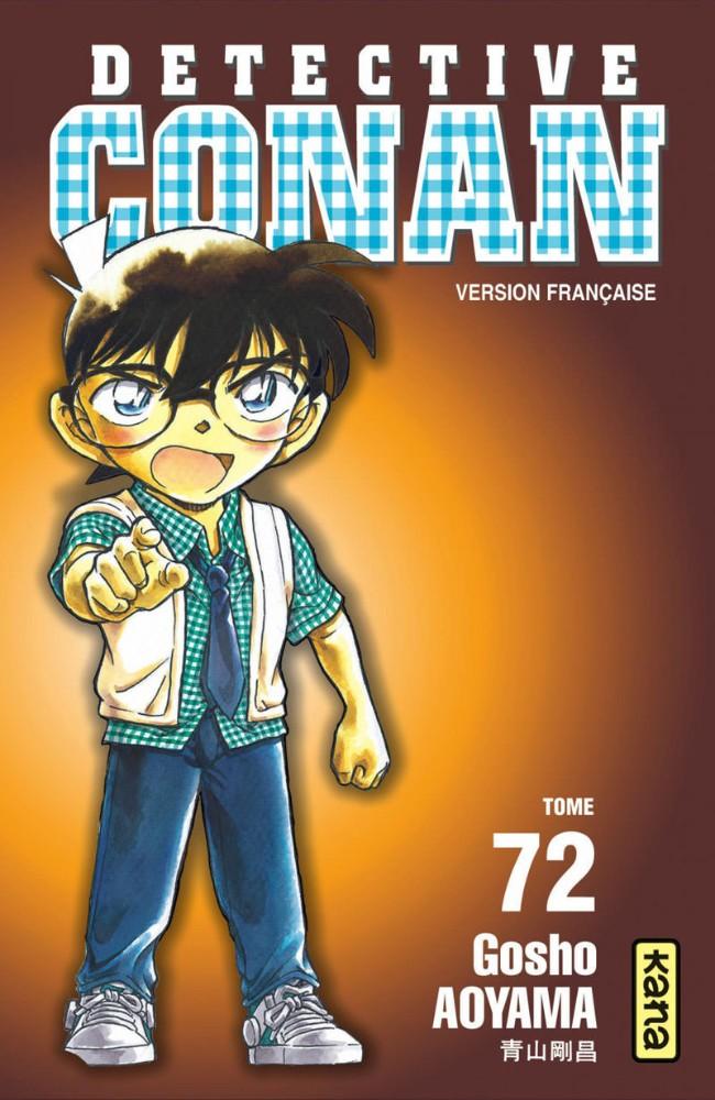 Couverture de Détective Conan -72- Tome 72