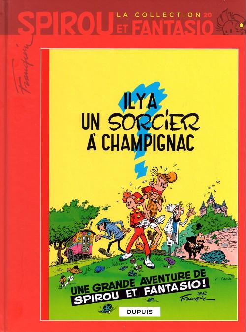 Couverture de Spirou et Fantasio - La collection -20- Il y a un sorcier à Champignac