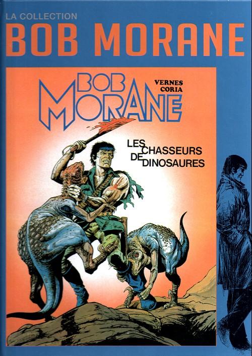 Couverture de Bob Morane 11 (La collection - Altaya) -28- Les chasseurs de dinosaures
