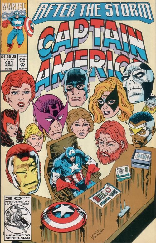 Couverture de Captain America (1968) -401- After the storm