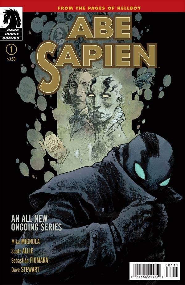 Couverture de Abe Sapien (2008) -11- Dark and Terrible (Part 1 of 3)
