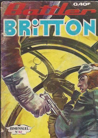 Couverture de Battler Britton -162- La chambre froide