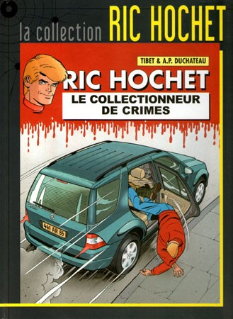 Couverture de Ric Hochet - La collection (Hachette) -68- Le collectionneur de crimes