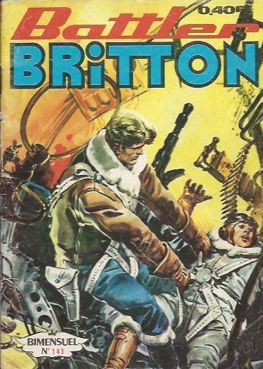 Couverture de Battler Britton -143- Mer de feu