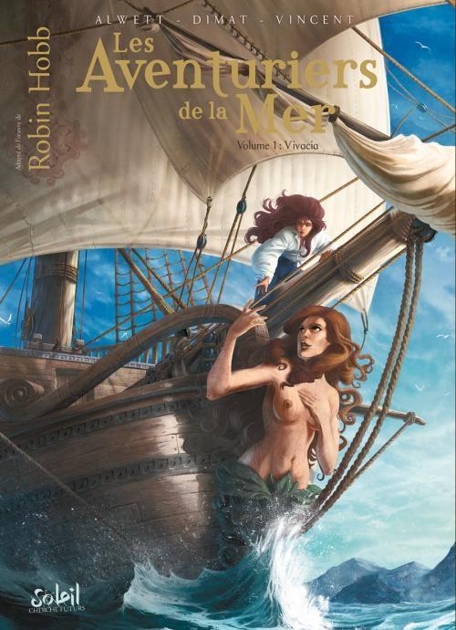Couverture de Les aventuriers de la Mer -1- Vivacia