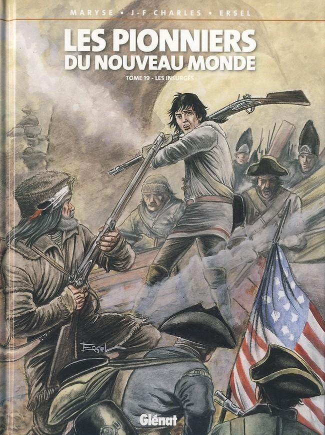 Couverture de Les pionniers du Nouveau Monde -19- Les insurgés