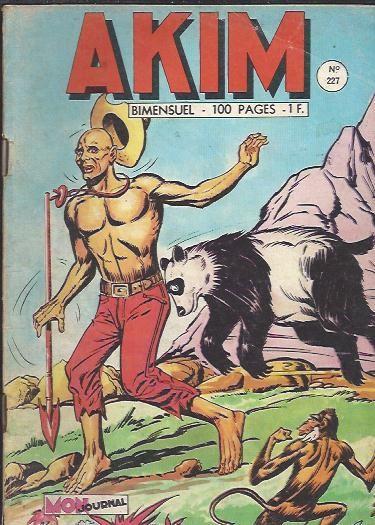 Couverture de Akim (1re série) -227- Chiuk à la rescousse