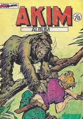 Couverture de Akim (1re série) -Rec078- Album N°78 (du n°433 au n°436)