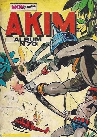 Couverture de Akim (1re série) -Rec070- Album N°70 (du n°401 au n°404)