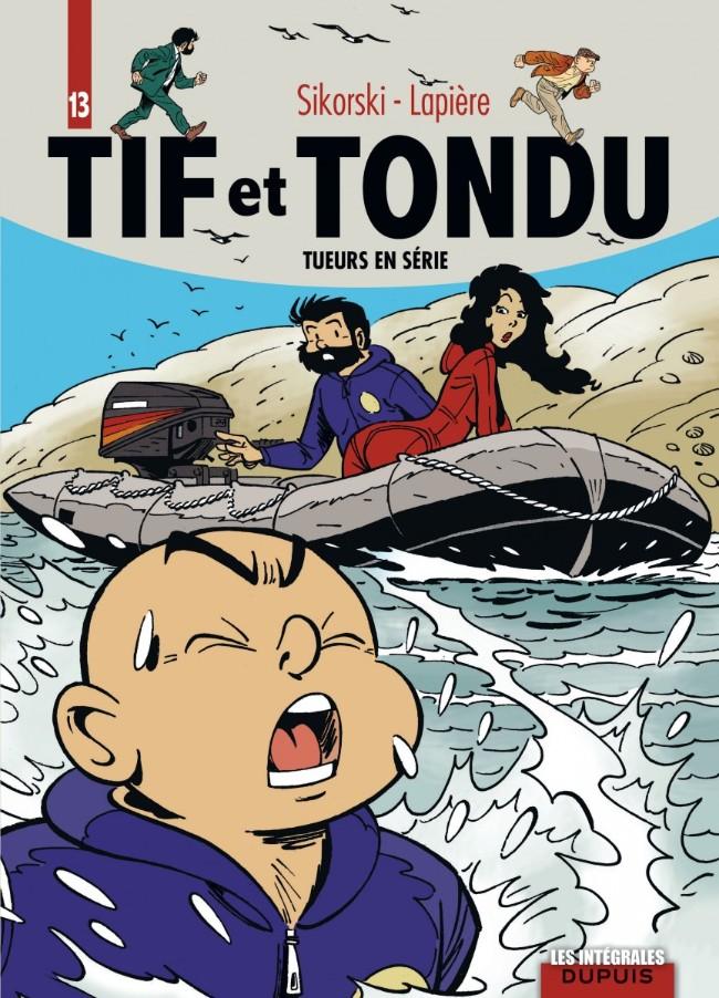 Couverture de Tif et Tondu (Intégrale) -13- Tueurs en série