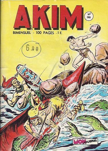 Couverture de Akim (1re série) -269- Le grand cirque
