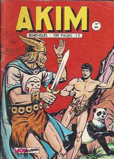 Couverture de Akim (1re série) -263- Le traître